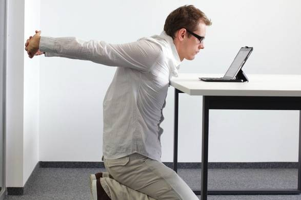 desk workers exercises