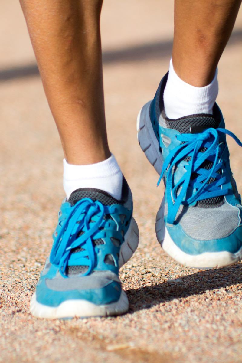 knee pain - good shoes